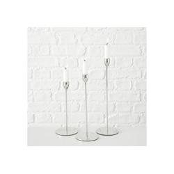 """BOLTZE Kerzenständer 3-tlg. Set Kerzenständer """"Malte"""", H23-33 cm"""