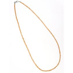 Adelia´s Kette ohne Anhänger Granat Halskette 925 Silber 45 cm