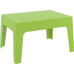 CLP Gartentisch Box Kunststoff I Stapelbarer Beistelltisch I Wetterfester Outdoor-Tisch... grün