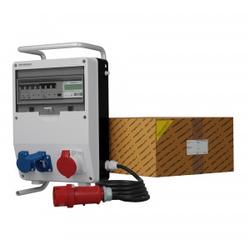 Stromverteiler TD-S/FI 16A 2x230V franz System SKHU Kabel Stromzähler MID Doktorvolt® 0519