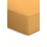 SCHLAFGUT Basic Mako-Jersey (180x200-200x200cm) curry