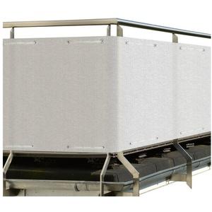 Sol Royal Balkonsichtschutz SolVision HB2 HDPE Balkonumspannung 500x90cm weiß