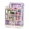 BABY VIVO Puppenhaus Lavinia aus Holz mit Zubehör