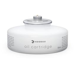 kooduu Teelicht Öllampe - Kartusche (Set, 6-tlg), passend für Glow und Nordic Light Pro