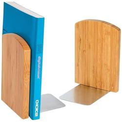 Buchstützen Bambus VE=2 Stück braun