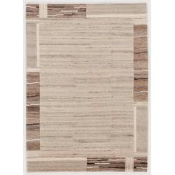 Orientteppich Savana Kite, OCI DIE TEPPICHMARKE, rechteckig, Höhe 6 mm, handgeknüpft grau 140 cm x 200 cm x 6 mm