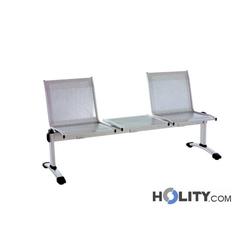 Sitzbank mit Tisch für Wartezimmer h2043