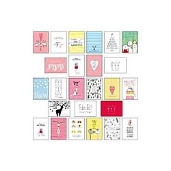 Postkarten-Set Weihnachten. Lisa Wirth  - Buch