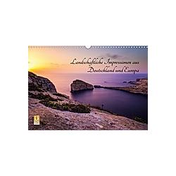Landschaftliche Impressionen aus Deutschland und Europa (Wandkalender 2021 DIN A3 quer)