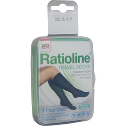 RATIOLINE Travel Socks Gr.36-40 2 St.