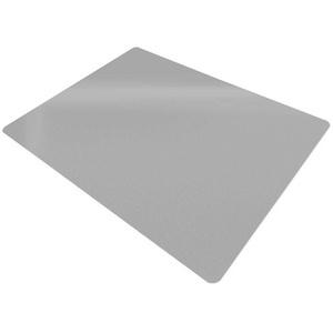 Floordirekt Bodenschutzmatte für Hartböden, Grau grau 120 cm x 150 cm x 0.18 cm