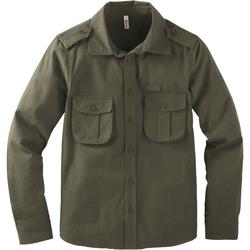 Hemd, khaki, Gr. 128/134 - 128/134 - khaki