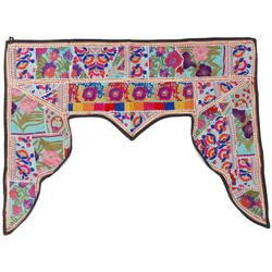 Wandteppich Orientalischer Wandbehang, indischer Toran,.., Guru-Shop, Höhe 80 mm