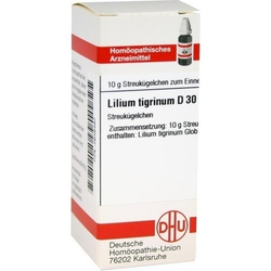 LILIUM TIGRINUM D 30 Globuli 10 g