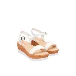 Keilabsatz-Sandalen Damen Größe: 42