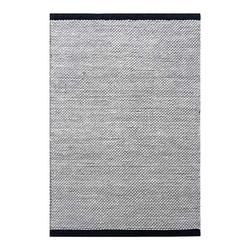 Teppich Flynn - Wollteppich, Handgewebt, Fable & Loom, rechteckig, Höhe 20 mm, handgewebter Wollteppich, texturiert weiß 140 cm x 200 cm x 20 mm