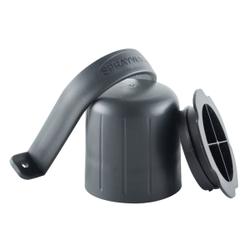 ABENA® SprayWash Tablet Kit Behälter, Farbbehälter für SprayWash Tabs, Farbe: grau