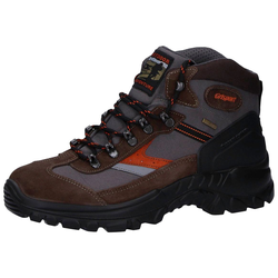 13316S52 Wanderschuh braun/orange Gritex 37