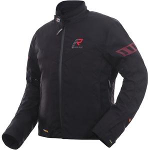 Rukka Start-R Motorrad Textiljacke, schwarz-rot, Größe 52