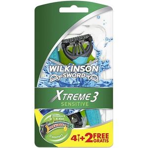 Wilkinson Sword Xtreme 3 Sensitive Einwegrasierer Einmalrasierer 6 St Neu