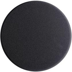 SONAX PolierSchwamm (extraweich) AntiHologrammPad, Ø 200 mm, Supersofter feinporiger Schwamm zum maschinellen Finishpolieren von Lacken, Farbe: grau