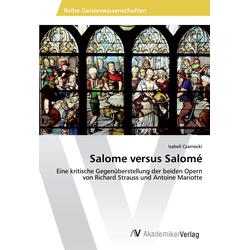 Salome versus Salomé als Buch von Isabell Czarnecki