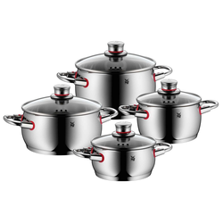 WMF Topfserie QUALITY ONE Topfset 4 teilig COOL+Griffe
