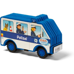 Kiddilight-Auto. Polizei