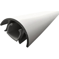 Alunovo MAL-080 Kabelkanal (L x B x H) 800 x 30 x 15mm 1 St. Silber (matt, eloxiert)