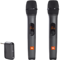 JBL PartyBox On-The-Go Schwarz Aufsteckbares Mikrofon