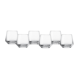 SCHOTT ZWIESEL Serie PURE Whiskyglas klein 6 Stück Inhalt 306 ml Whisky