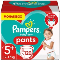 Pampers Baby-Dry Pants 12-17 kg 120 St.