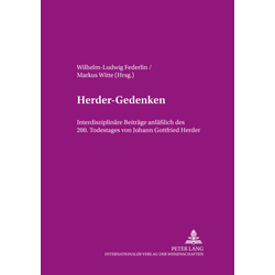 Herder-Gedenken als Buch von