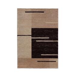 Teppich Florenz - Lines Up - (Braun; 160 x 230 cm)