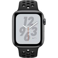 (GPS) 40mm Aluminiumgehäuse space grau mit Nike Sportarmband schwarz