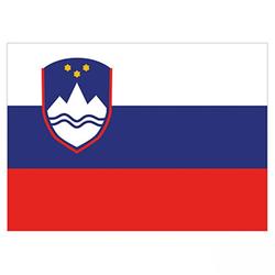 Flagge Slowenien 90x150cm mit Befestigungsösen