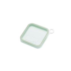 LEKUE Lunchbox Silikon-Sandwichbox grün