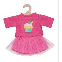 Heless Pullover und Tüllrock, Cupcake 28-35 cm