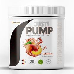 ProFuel Just Pump Booster, 400 g Dose (Geschmack: Ice Tea Peach)