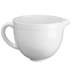 KitchenAid Artisan Keramikschüssel für Küchenmaschine Weiß