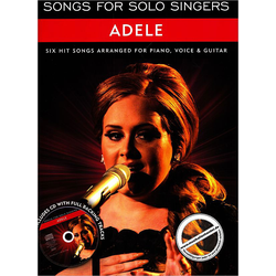 Songs for Solo Singers - Adele - Piano, Gitarre, Gesang inkl. CD