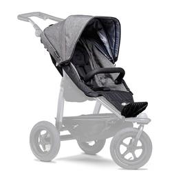 tfk Kinderwagenaufsatz Sportsitz mono, passend für tfk Kombi-Kinderwagen mono grau