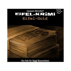 Jacques Berndorf - Eifel-Krimi Folge 5-Eifel-Gold (CD)