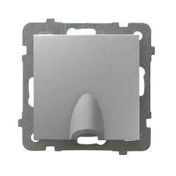 Kabelanschluss - Steckdose Silber Ospel As GPPK-1G/m/18