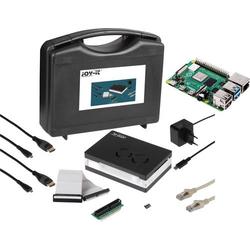 Joy-it Allround Starter Kit Raspberry Pi® 4 B 8GB 4 x 1.5GHz inkl. Aufbewahrungskoffer, inkl. Gehä