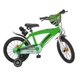 Toimsa Bikes Kinderfahrrad 16 Zoll Kinder Rad Kinderfahrrad Fahrrad Rad Kawasaki Kinder Fahrrad, 1 Gang, Keine Schaltung