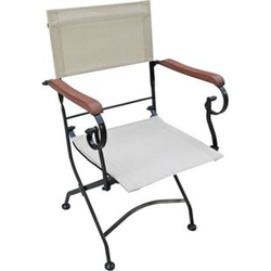 5tlg. Holz Tischgruppe Gartenmöbel Gartentisch Stuhl Garten Klappstuhl Tisch