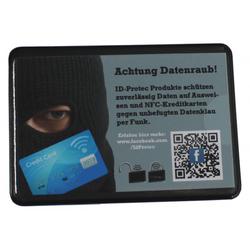 RFID-Schutzhülle für eine Kreditkarte