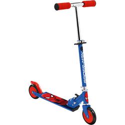 Spider-Man Scooter, klappbar blau/rot