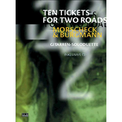 Ten Tickets for Two Roads als Buch von Peter Morscheck/ Chris Burgmann